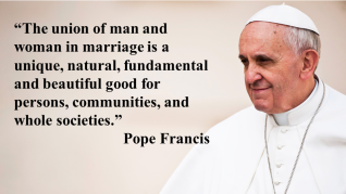Pope Francis_Marriage