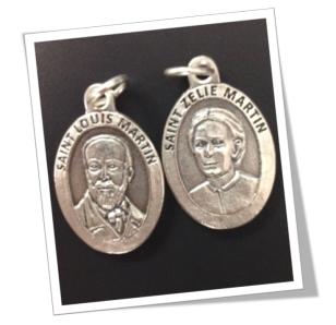 Saints Louis and Zelie Martin Medals