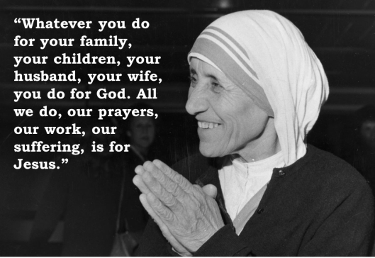 Mother Teresa_All for Jesus