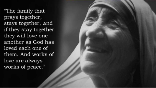 Mother Teresa_Family Prayer