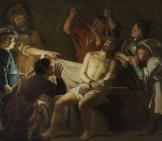 Gerard van Honthorst_1622_Crowning with Thorns
