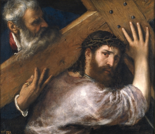Tiziano Vecelli_Christ_Carrying_the_Cross_c1565