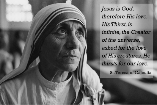 Mother Teresa_Thirst
