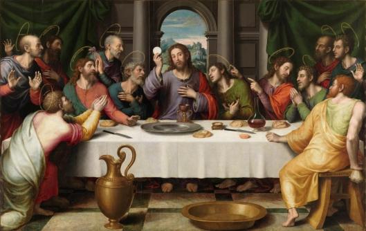 Last Supper_Juan de Juanes