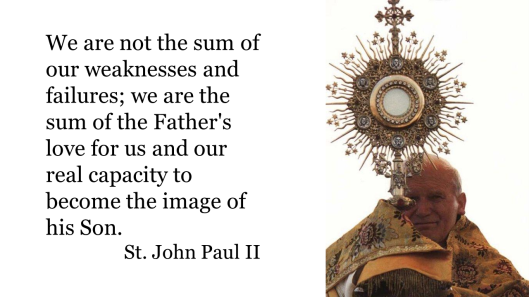 JPII not sum of weaknesses