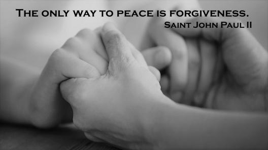 JPII Forgiveness