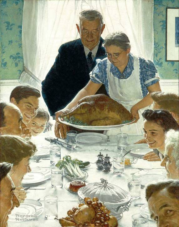 Freedom-from-Want_Norman Rockwell
