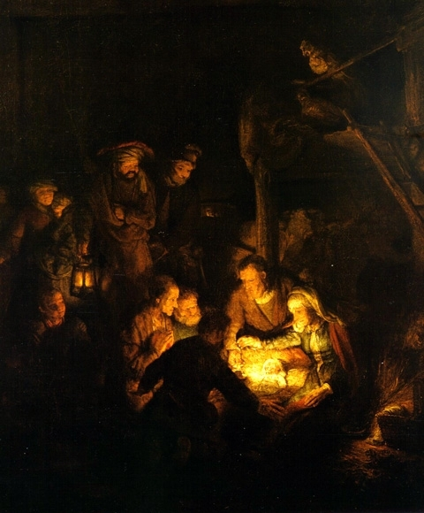 rembrandt-adoration-of-the-shepherds-1646