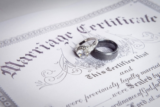 marriage license_shutterstock