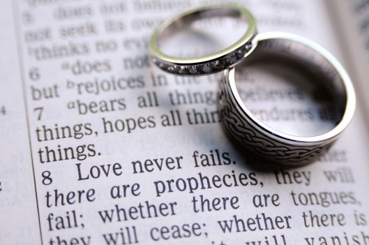 Wedding Rings_Love Never Fails_1 Cor 13 8_shutterstock