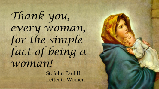 Thank You Women JPII
