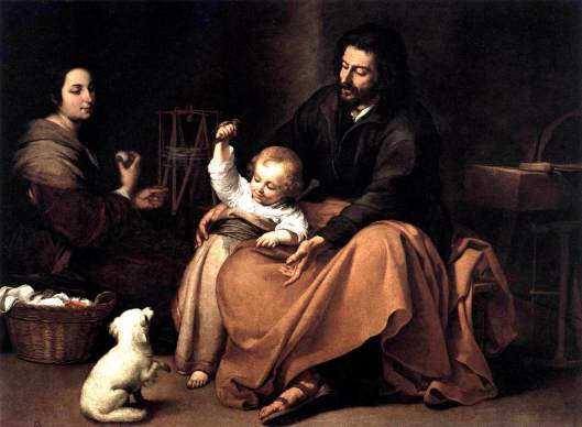 Murillo_Holy Family