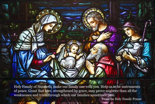 Holy Family Prayer