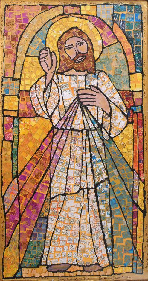 Divine Mercy mosaic