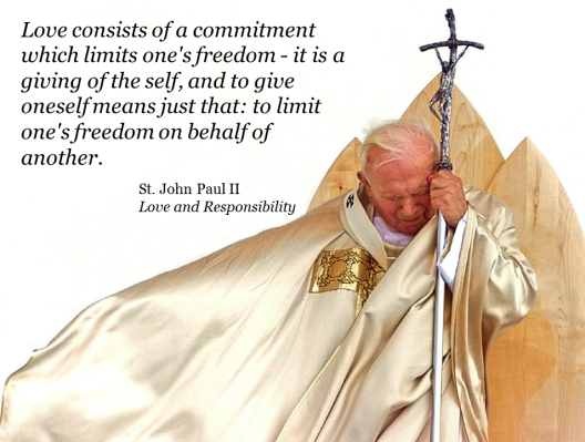 JPII Giving of Self