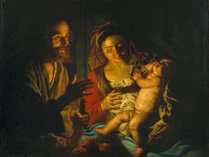 Matthias Stom_Holy Family_c1640