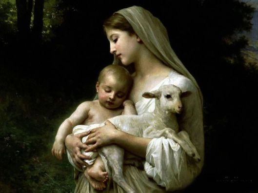 BVM holding Jesus and Lamb_02